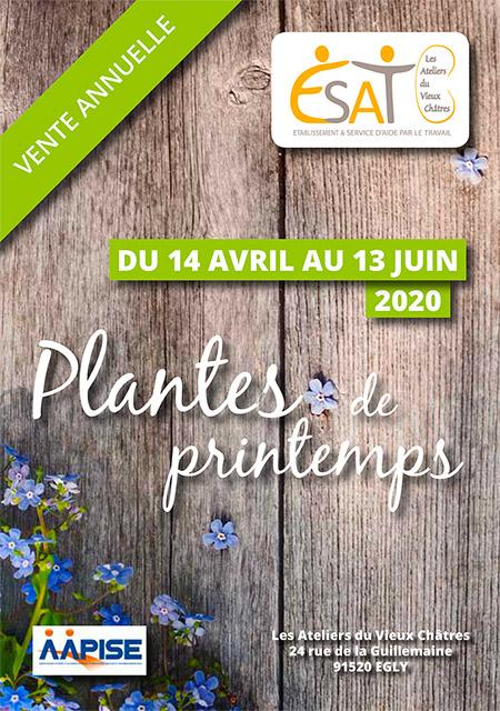 Vente annuelle – Plantes de Printemps
