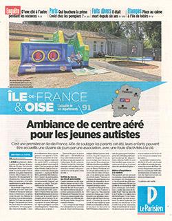Ambiance de centre aéré pour les jeunes autistes